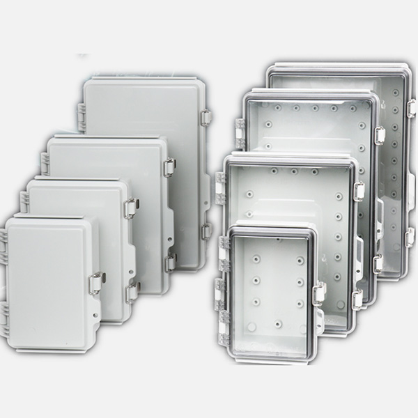 Metal Clasp Waterproof box, Plastic Electrical Boxes, waterproof  enclosures, surface-mounted enclosure